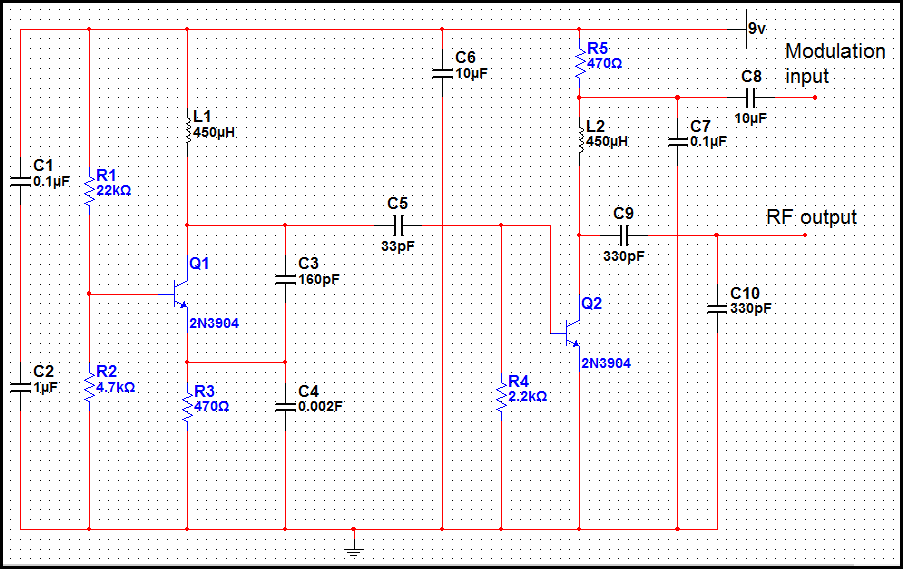 electronics mini projects with circuit diagram wiring diagrams for outlet switch and light basic low power am transmitter