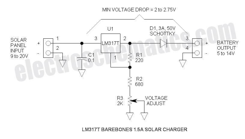 12v 100ah battery charger circuit diagram fender pickup wiring 5 - 14 v solar electronic