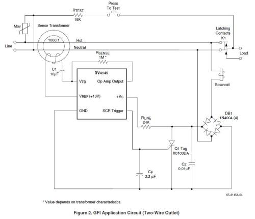 small resolution of gfi application note schematic