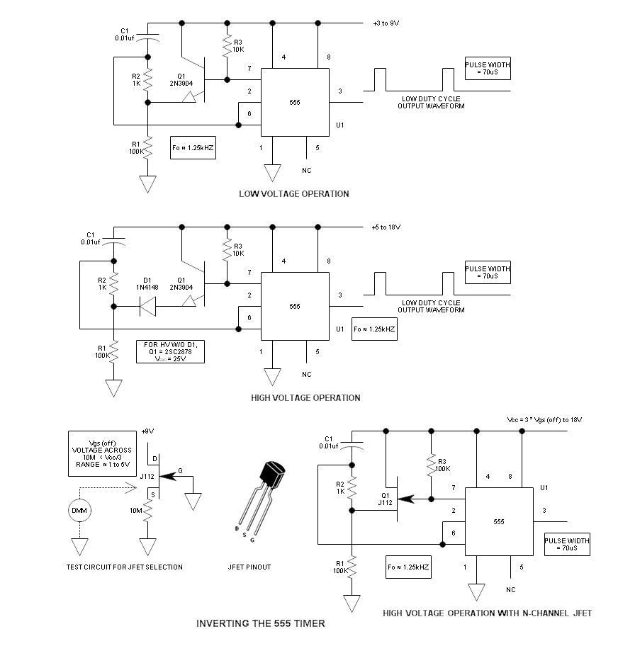 medium resolution of inverted 555 timer schematic