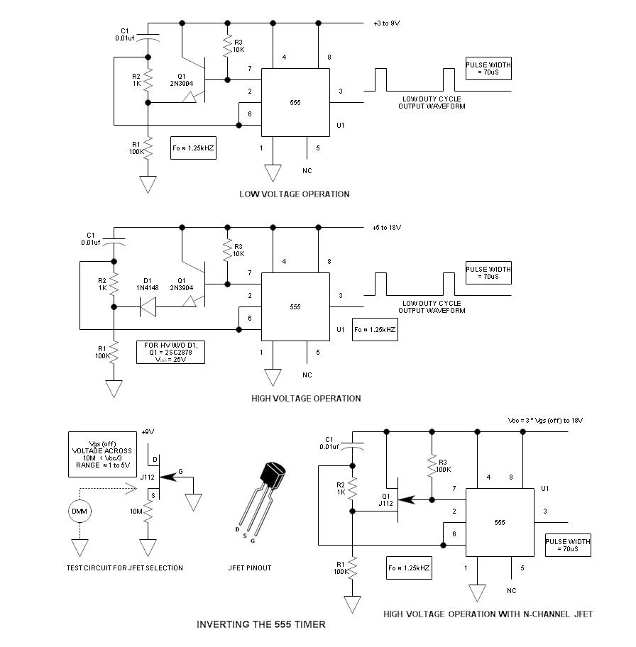 hight resolution of inverted 555 timer schematic