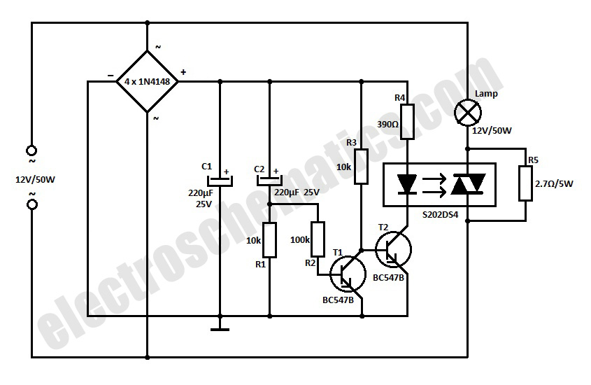 Triac Phase Control Dimmer.Dimmer Circuit For LED Bulbs