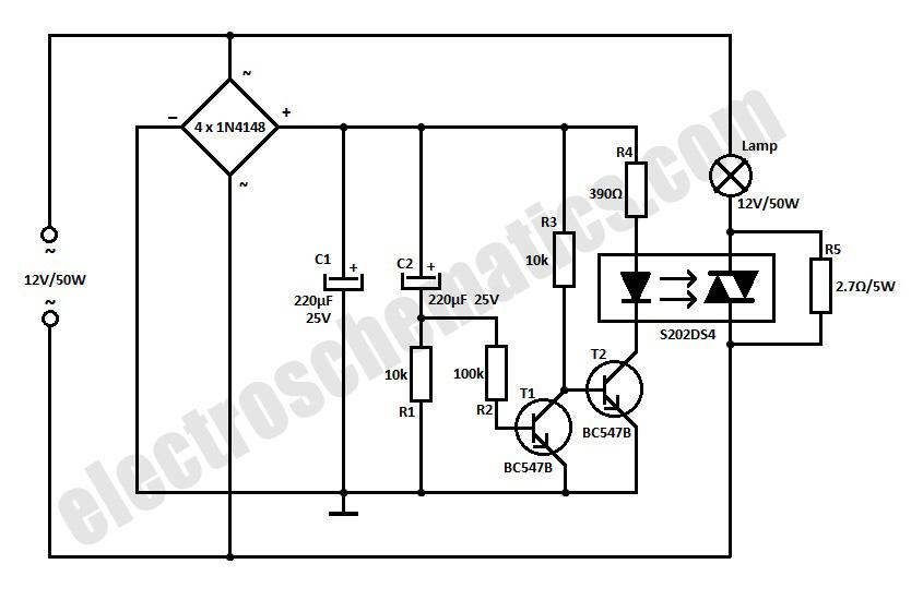 soft start for 12 volt halogen lamps