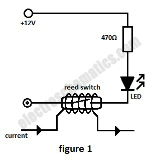 Current Monitor with Reed Switch