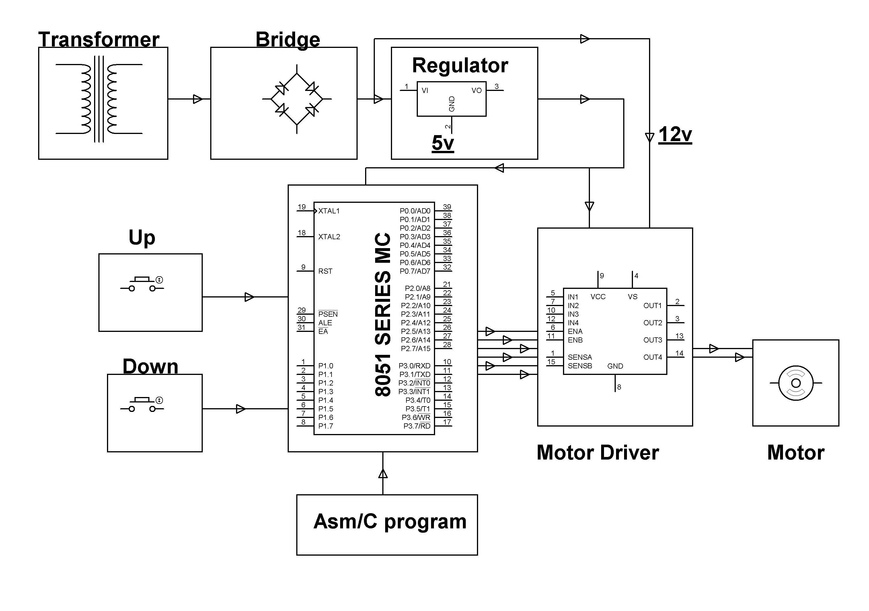 wiring diagram of motor control power door lock switch dc speed controller circuit using ne555