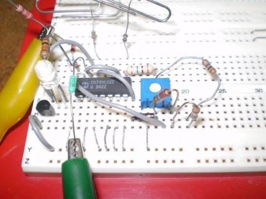 Capacitive Proximity Sensor Circuit Diagram