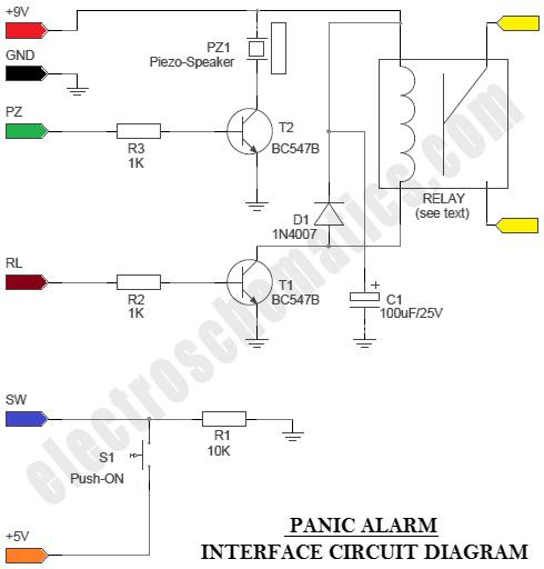 alarm wiring circuit