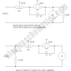 3 Phase Start Stop Wiring Diagram Detroit Diesel Series 60 Ecm Run Relay Circuit Schematic