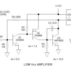 Speaker Wiring Diagram 6 Ohm Miller Furnace 4 Guitar New Era Of Low Voltage Audio Amplifier Parallel Or Series 1