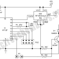 Rf Tx And Rx Circuit Diagram Kenwood Wire Based Wireless Remote Control Switch