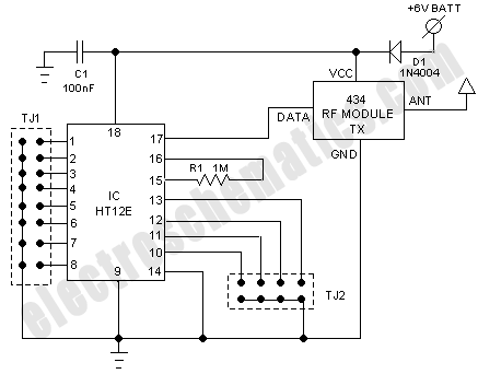 Remote Transmitter Schematic, Remote, Free Engine Image