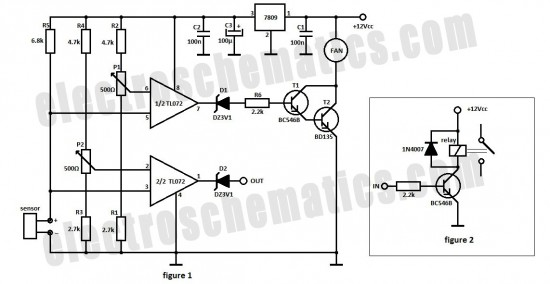 Automatic Fan Controller Circuit