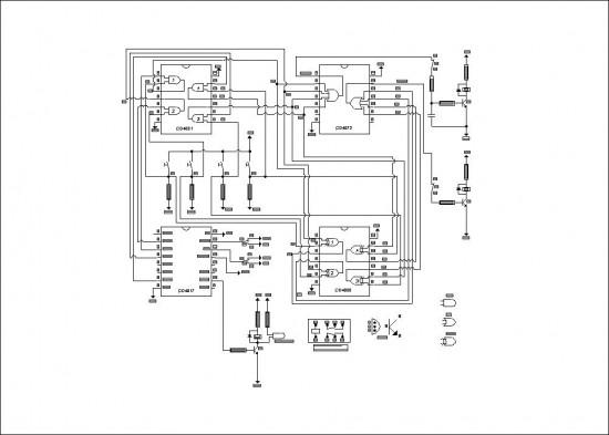 Electronic Key Circuit