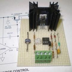 Battery Charge Controller Circuit Diagram 2000 Nissan Pathfinder Engine 3a 6v 12v Solar Control