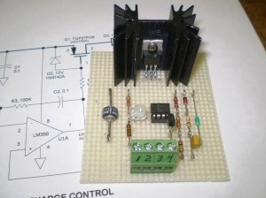 3A 6V12V Solar Charge Control Circuit