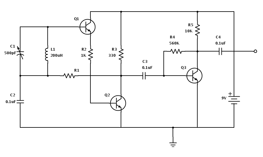 am receiver schematic