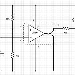 Led Strobe Light Circuit Diagram 1997 Vw Jetta Stereo Wiring Infrared Beam Break Detector