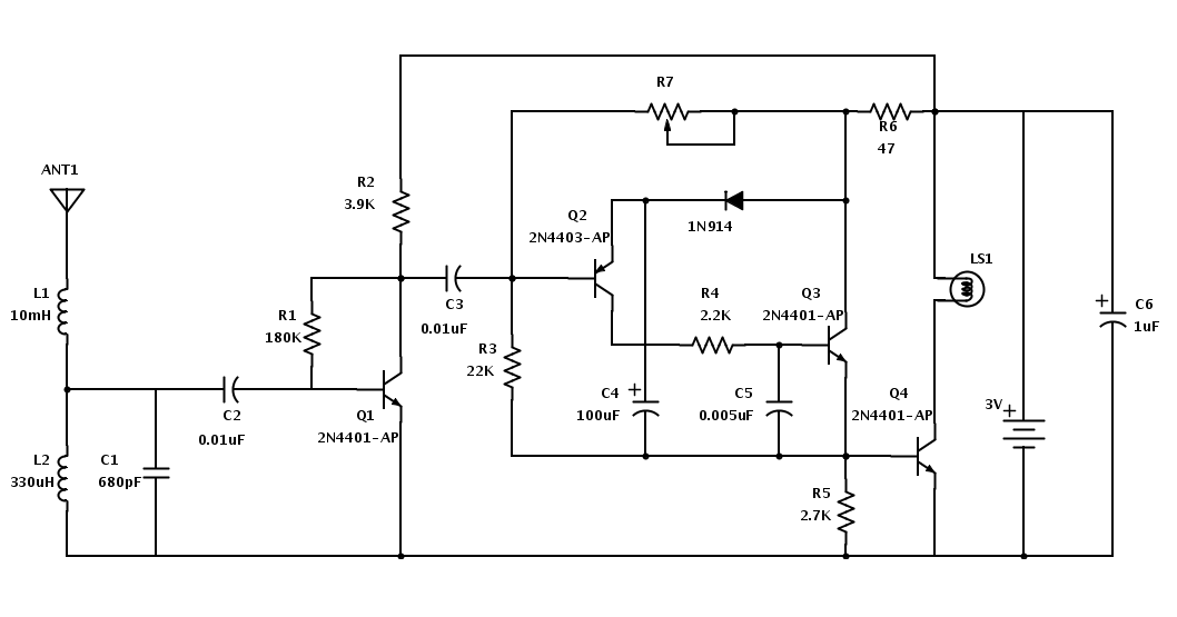 Lightning Strike Detection Circuit