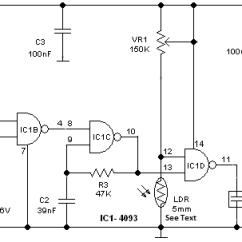 Garage Door Sensor Wiring Diagram Pj Dump Trailer Roc Grp 4093 Circuit Projects