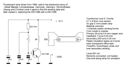 small resolution of the standard schematic which you find in many versions everywhere looks like this