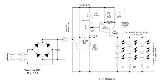 10v Dimming Wiring Diagram 12v Led Dimmer Circuit
