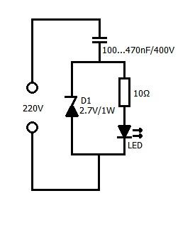 LED 220V Volt