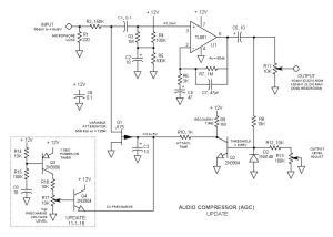 Audio Compression Amplifier AGC