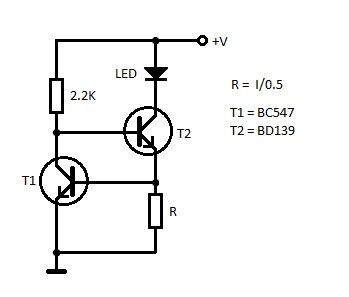 LED Constant Current Circuit