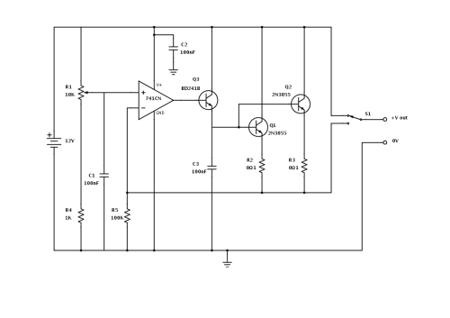 small resolution of high power car voltage regulator shunt regulator circuit schematic diagram