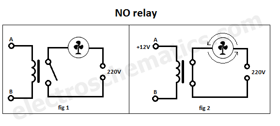 3 Pole Transfer Switch Wiring Diagram No Spst Relay Normally Open Relay