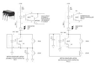 Optocoupler Latch Circuit