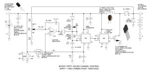 Solar Boost Converter with MPPT Charger Controller