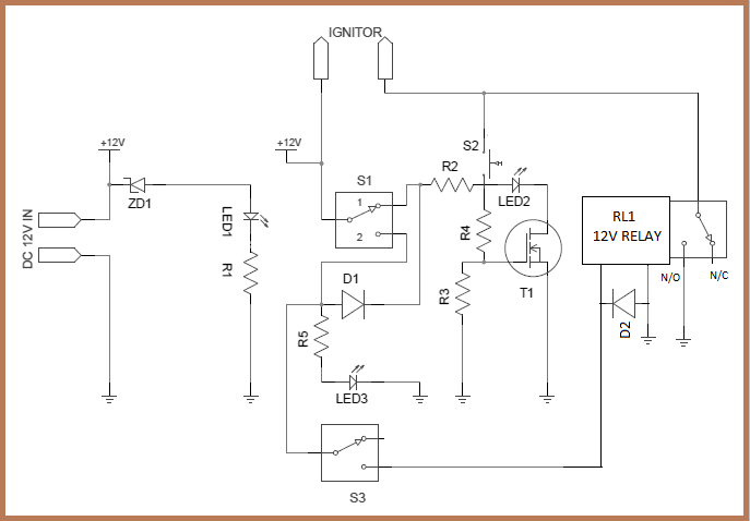 home media server wiring diagram 2006 chevy 2500 stereo model rocket launch controller circuit schematic