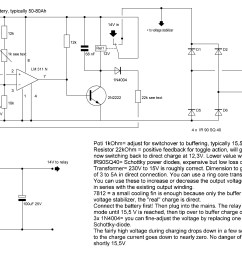 automotive battery charger wiring diagram [ 2845 x 1708 Pixel ]