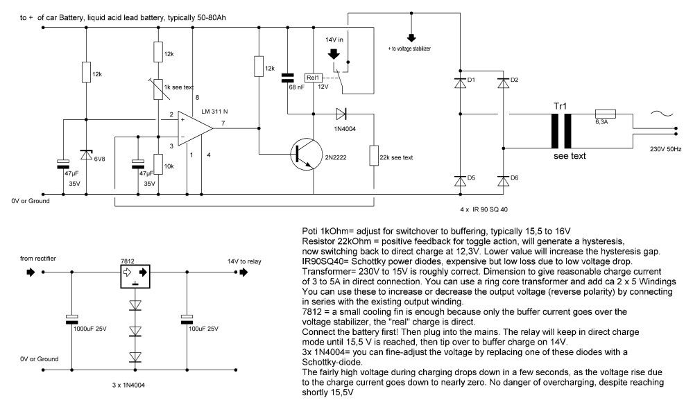 medium resolution of automotive battery charger wiring diagram
