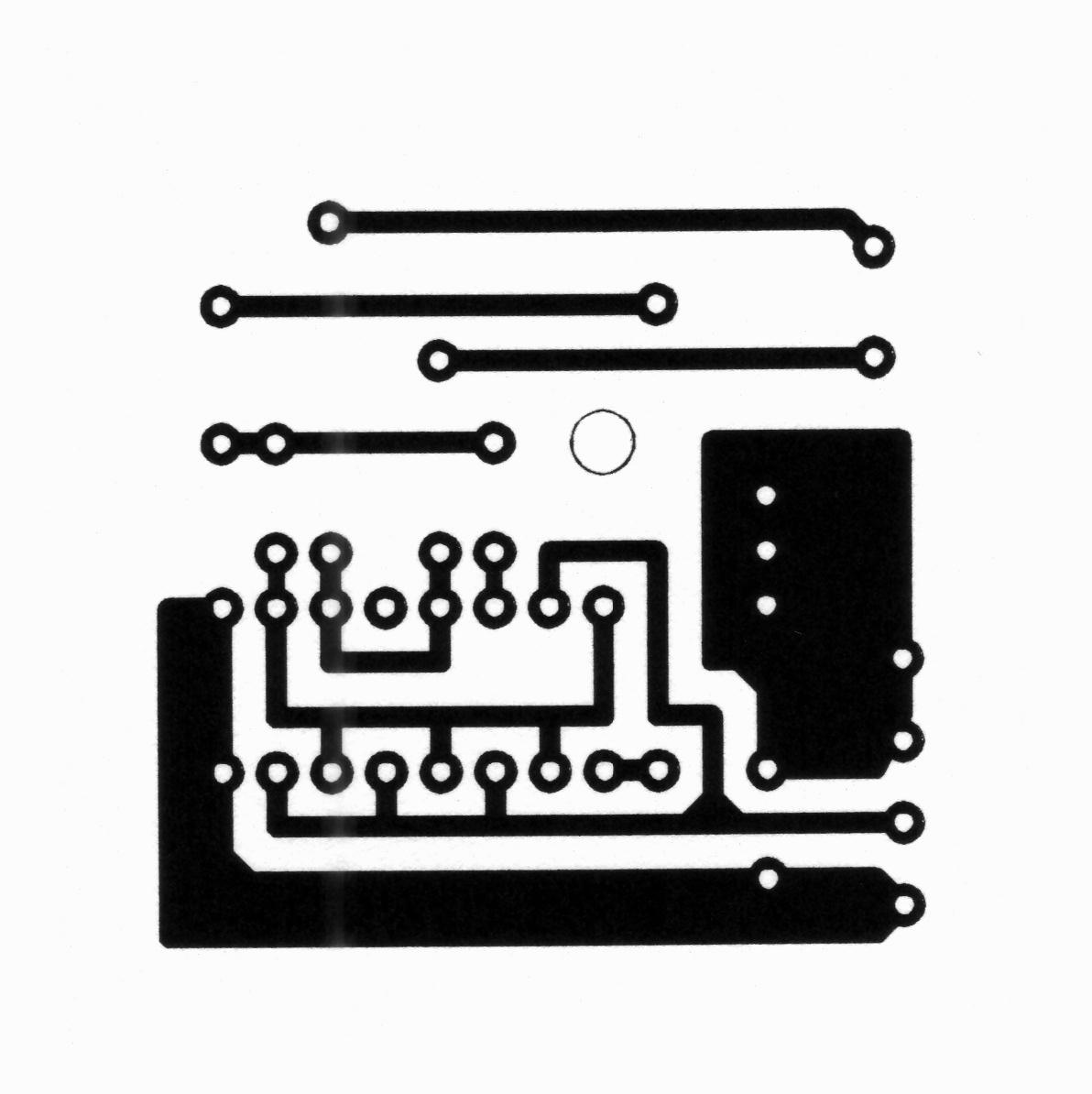 hight resolution of the small pc board is just for the impulse generator the rest can be wired by hand you may change it to fit to your trimmer many versions and capacitors