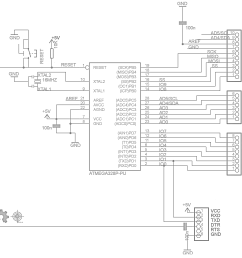 hopkins 7 pin wiring diagram build your own arduino bootload an atmega microcontroller part 1 rh electroschematics com arduino uno schematic [ 1821 x 1653 Pixel ]