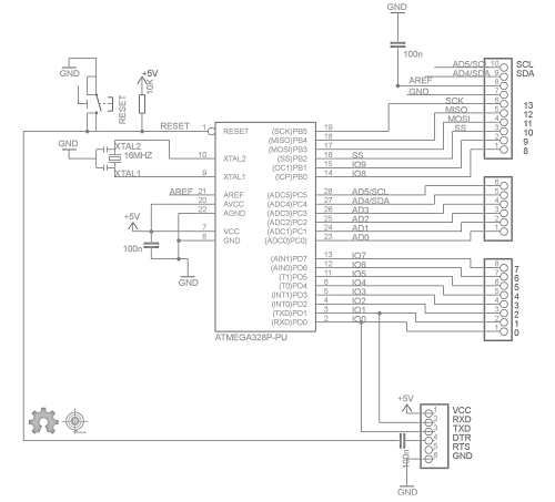 small resolution of diy arduino schematic
