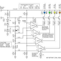 Water Level Indicator Project With Circuit Diagram Car Interior Parts 36v Battery