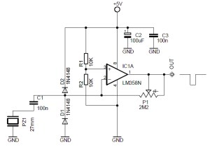 Vending Machine Drop Sensor Circuit