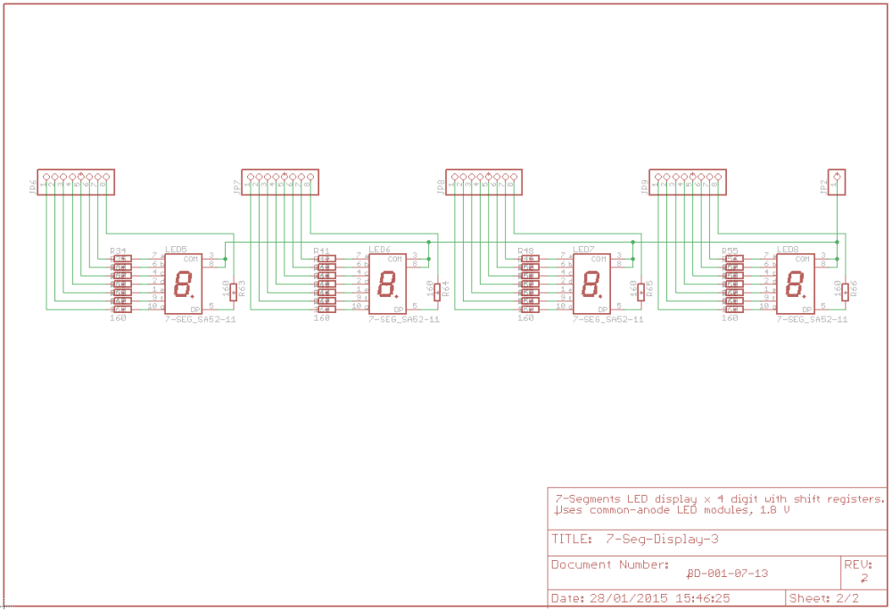 medium resolution of the only different thing is our sketch we should consider that with this kind of configuration a certain led segment will light when the corresponding