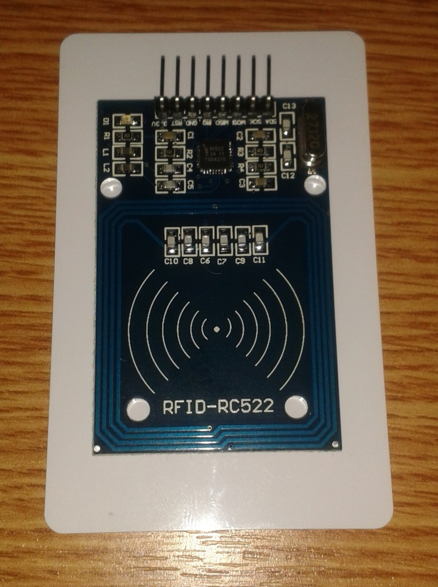 Arduino RFID Reader RC522 + Access Control Security System