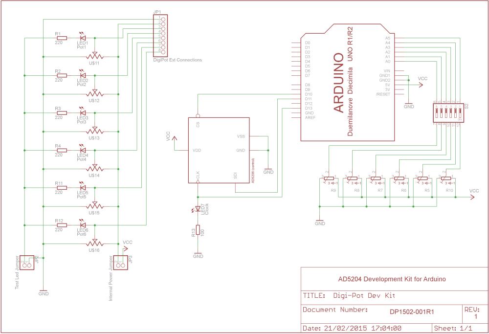medium resolution of digital potentiometer shield schematics