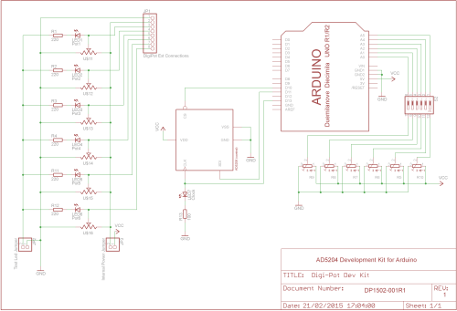 small resolution of digital potentiometer shield schematics