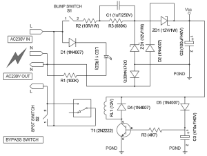 Automatic Hotel Room KeyCard Power Switch