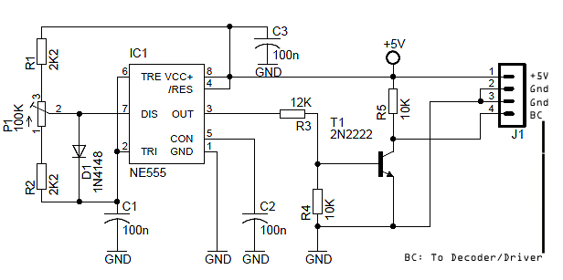 LED Display Brightness Controller Circuit