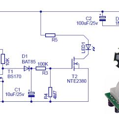 Motion Sensor Light Switch Wiring Diagram Epiphone Es 335 Pro Motion-sensing Security Circuit