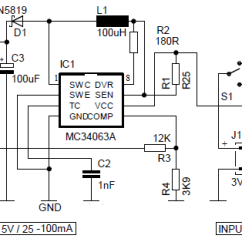 Car Battery Wiring Diagram Steam Table And Mollier Pdf 5v Power Bank With 3 7v Li Ion Circuit