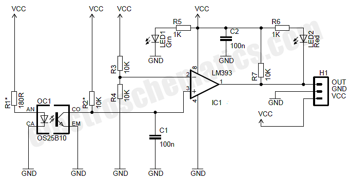 simple indicator wiring diagram overhead crane pendant motor speed sensor module circuit