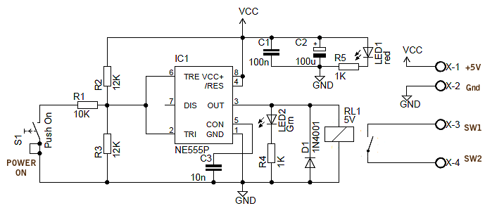 wiring diagram for 12v led switch schematic of mass spectrometer power back surge protection circuit